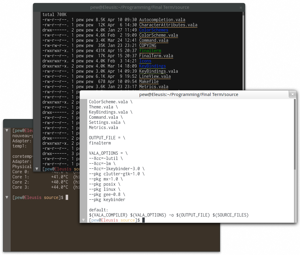 Themes screenshot