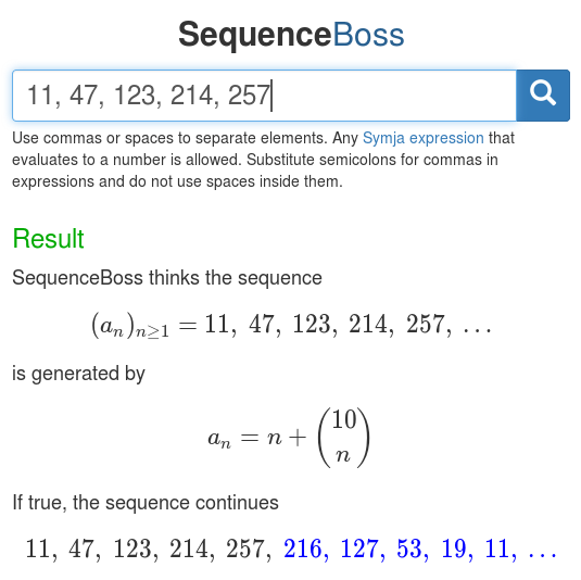 SequenceBoss screenshot